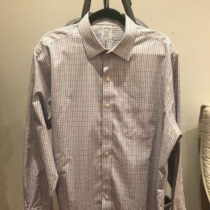 2x Brooks Brothers Dress Shirts, 17.5x35